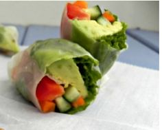 http://ift.tt/2j2fHG6  Whether you call it a Spring Roll or a Summer Roll this makes a perfect lunch any time of year. I got hooked on this beautiful dish at Whole Foods and wanted to try my hand at making them at home. The colors and the freshness of the ingredients are perfect for lunch. You can customize the rolls to fit your likes and dietary needs! Rolling the rolls can prove to be tricky but with practice you will get better trust meIve been practicing!    Ingredients  bell…