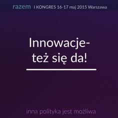 """>>Innowacje - też się da!"""""""