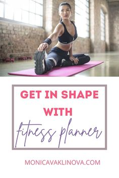 Get in shape with simple fitness tracker. #fitnessplanner #fitness #healtylifestyle Fitness Planner, Sports Activities, Fitness Tracker, Easy Workouts, Get In Shape, No Equipment Workout, Stay Fit, Self Improvement, Travel Guides