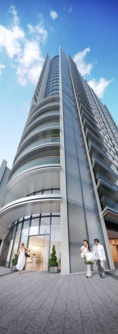 cgi of Barratt London's new tower at Altitude, Aldgate