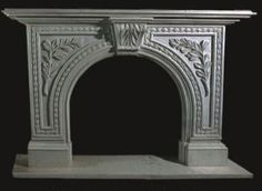 Marble Fireplaces Carved Limestone Fireplace white marble www.fireplacechicago.com