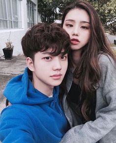 Tumblr Couples, Kpop Couples, Anime Couples, Cute Korean, Korean Girl, Korean People, Uzzlang Girl, Korean Ulzzang, Asian Love