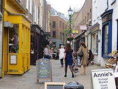 London shopping.  Un autre quartier où se perdre Bloomsbury et sa Lamb's conduit street  Et pour finir Camdem Passage à Islington pour ses petites boutiques .