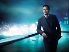 His Style Diary | Chow Yun Fat models for HUGO BOSS Selection