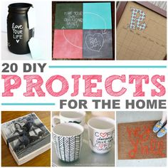 20 must-make DIY projects for your house