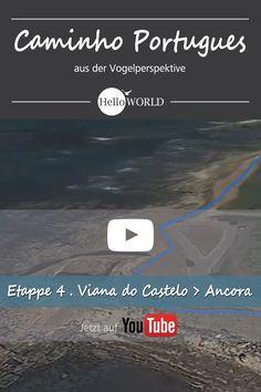 Etappe 4 . Viana do Castelo > Ancora: Jakobsweg / Caminho Portugues / Camino Portugues; Porto (Portugal) > Santiago de Compostela (Spanien)