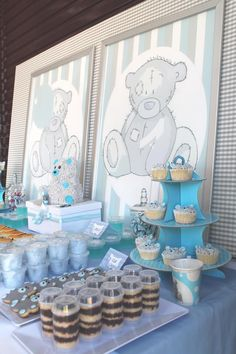 Teddy Bear Tea Party with So Many Really Cute Ideas via Kara's Party Ideas | KarasPartyIdeas.com #TeddyBearBabyShower #TeddyBearParty #Party...