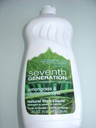 seventh generation lemongrass & clementine dish soap; the only one i'll use