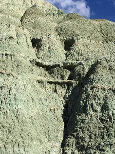 """John Day Fossil Beds. """"Face"""""""