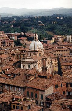 Siena, Italy / photo by Irene Suchocki.  We spent several days in Siena.  I loved the town