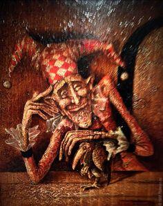 Stanislav Plutenko ::The jester and the crow  :: 1988