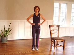 Standing Abduction: Improve your balance while working outer thigh muscles