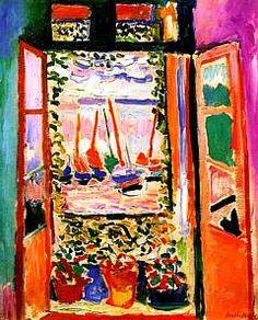 Matisse, The Open Window, Collioure, 1905