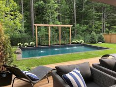 """Landscape Design Pros on Instagram: """"Dear Mother Nature, please bring pool season back soon. We can't stand this winter weather much longer @prime.pools .…"""" Mother Nature, Pools, Landscape Design, Bring It On, Weather, Seasons, Canning, Outdoor Decor, Instagram"""