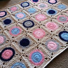 Gumball Blanket By Rachele Carmona - Free Crochet Pattern - (ravelry)