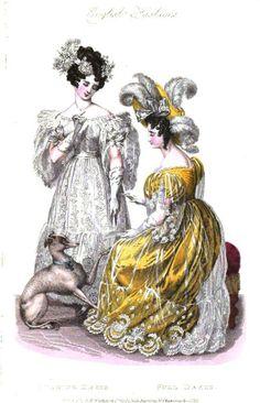 La Belle Assemblee, Dancing and Full Dress, 1830.