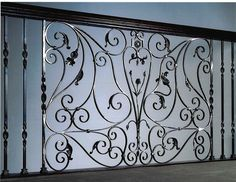 Hand Forged Panel Balcony - Finelli Ironworks
