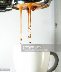 Visual Espresso Shot Pouring Stock Photo | Getty Images