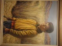 Portrait of Nito, por Peter Hurd, 1961