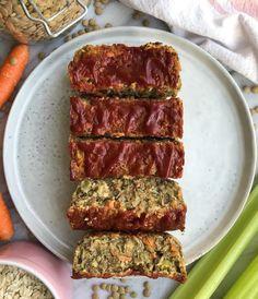 Vegan Lentil Loaf - Liv Label Free