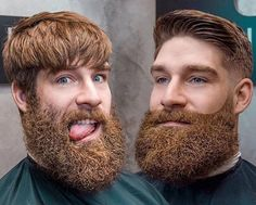Beard Styles, Hair Styles, Beard Lover, Awesome Beards, Beard Gang, Current Mood, Hair Today, Barber Shop, Gq