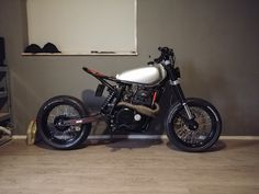 Tracker Motorcycle, Cafe Racer Motorcycle, Moto Bike, Mini Motorbike, Motorbike Design, Yamaha Cafe Racer, Cafe Racer Build, Concept Motorcycles, Cool Motorcycles