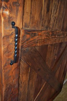 Barn door by Westsiderustica on Etsy