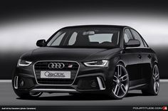 Audi A4/S4 Styling from Caractere