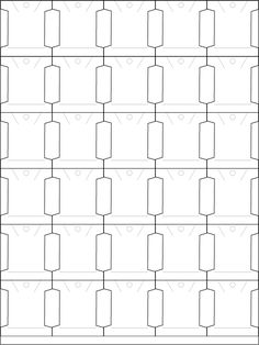 screenshot of the bobbin template Hand Embroidery Art, Simple Embroidery, Cross Stitch Embroidery, Embroidery Patterns, Cross Stitch Patterns, My Sewing Room, Sewing Rooms, Easy Yarn Crafts, Sewing Machine Projects