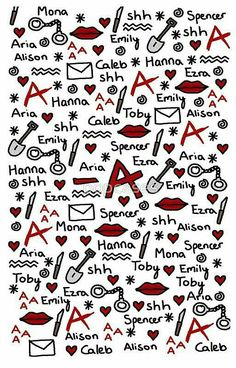 """A phone case to show off your PLL Army allegiance. 17 Gifts Only True """"Pretty Little Liars"""" Fans Will Want Caleb And Hanna, Preety Little Liars, Pretty Little Liars Quotes, Films Netflix, Wallpapers Tumblr, I'm Still Here, Best Shows Ever, Favorite Tv Shows, Iphone Wallpaper"""