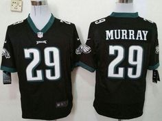"""$23.88 at """"MaryJersey""""(maryjerseyelway@gmail.com) Nike Eagles 29 DeMarco Murray Black Alternate Men Stitched NFL Game Jersey"""