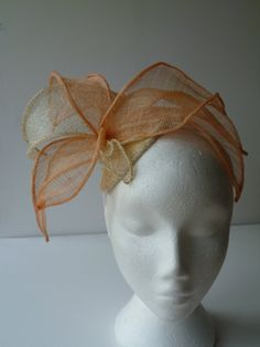 Peaches and cream with a dusting of gold flower by susansteiner, £40.00