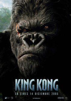King Kong. Scary king