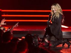 Madonna during her concert at the Bell Centre in Montreal on Wednesday September 9, 2015. Madonna is launching her worldwide Rebel Heart Tour with two shows at the Bell Centre.