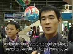 Chinese Jews from Kaifeng arrive in Israel- short, moving & honoring the diversity of Jew. pop.