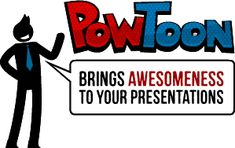 Module 3: My favourite resource: PowToon creates very cool animations and cartoons in your Presentations.