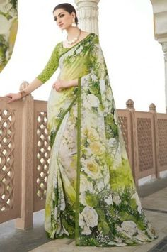Colorful Sarees – Buy online Red, Black, Green, Pink, yellow sarees in India Yellow Saree, Black Saree, Pink Saree, Red Chiffon, Online Shopping Websites, Sarees Online, Sari, India, Green