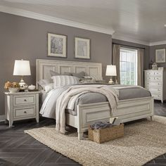 Stoughton Panel Configurable Bedroom Set – Most Beautiful Furniture Master Bedroom Design, Home Decor Bedroom, Bedroom Designs, Country Master Bedroom, Dream Master Bedroom, Romantic Master Bedroom, Bedding Master Bedroom, Master Bedroom Makeover, Ikea Bedroom