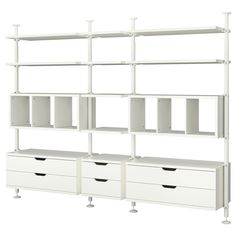 STOLMEN 3 sections - IKEA, for one side of storage closet