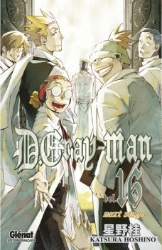 Couverture D.Gray-man, tome 16 : Next stage
