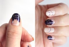 How To Nail Art: Fairy Lights Nails...