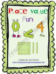 Place Value Fun Game from The Land of 2nd Grade on TeachersNotebook.com (22 pages)