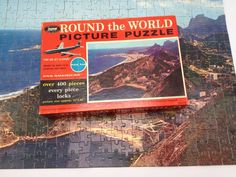 Jaymar Jigsaw Puzzle Rio De Janeiro Brazil Pan Am Round the World Complete 400+ #Jaymar