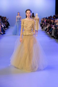 ELIE SAAB HAUTE COUTURE SPRING SUMMER 2014 FASHION SHOW