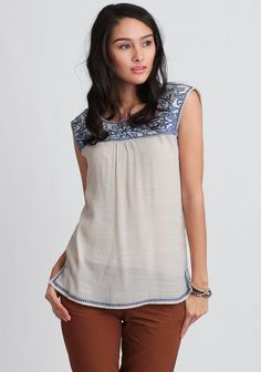 Laurel  Embroidered Blouse