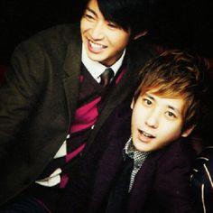 Masaki Aiba & Kazunari Ninomiya (Arashi)