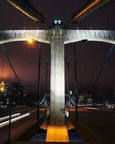 Hennepin Ave Bridge downtown Minneapolis