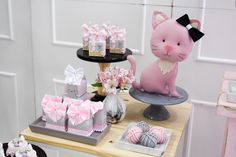 Cat Birthday, Birthday Party Themes, Cat Themed Parties, Kitten Party, Ocean Party, Super Party, Party Supplies, Birthdays, Baby Shower