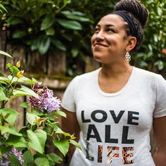 Lovin' all life in our endangered species tee. 25% of profits donated to the International Fund for Animal Welfare to help save animals! www.causeyoucareco.com #saveanimals #womensfashion