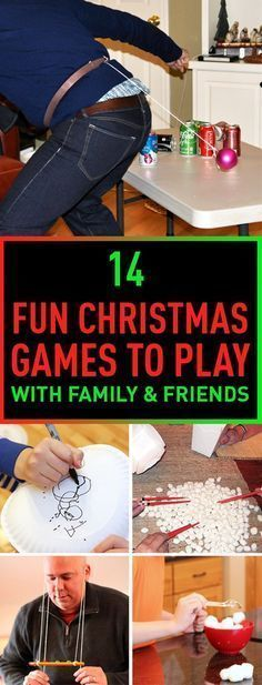 14 Fun Christmas Games To Play With Family & Friends #ChristmasGames
